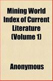 Mining World Index of Current Literature, Books, 1152550004