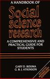 A Handbook of Social Science Research 9780198280002