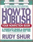 How to Publish Your Nonfiction Book 9780757000003