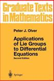 Applications of Lie Groups to Differential Equations, Olver, Peter J., 0387950001