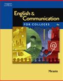 English and Communication for Colleges, Means, Thomas L. and Langlois, Elaine, 0538730005