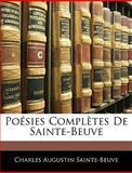 Poésies Complètes de Sainte-Beuve, Sainte-Beuve, Charles Augustin, 1144200008