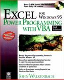 Excel for Windows 95 Power Programming Tech, John Walkenbach, 0764530011