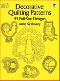 Decorative Quilting Patterns, Anne Szalavary, 0486260011
