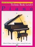 Alfred's Basic Piano Course, Technic Book, Level 4, Amanda Vick Lethco and Morton Manus, 0739010018