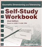Geometric Dimensioning and Tolerancing, Self-Study Workbook, with study Cards : Based on ASME Y14. 5M-1994, Krulikowski, Alex, 0924520019