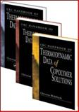 Crc Handbook of Thermodynamic Data of Polymer Solutions Three Vol, Wohlfarth Christian Staff, 0849350018