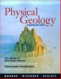 Physical Geology : Exploring the Earth, Monroe, James S. and Wicander, Reed, 0495110019