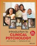 Introduction to Clinical Psychology : An Evidence-Based Approach, Hunsley, John and Lee, Catherine M., 111836001X