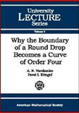 Why the Boundary of a Round Drop Becomes a Curve of Order Four, A. N. Varchenko and P. I. Etingof, 0821870025