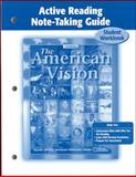 The American Vision Active Reading Note-Taking Guide 9780078680021
