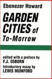 Garden Cities of To-Morrow 9780262580021