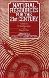 Natural Resources for the 21st Century, American Forestry Association, 1559630027