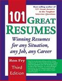 101 Great Resumes, Fry, Ron, 1418040029
