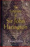 The Epigrams of Sir John Harington, Kilroy, Gerard, 0754660028