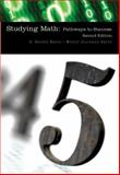 Studying Math : Pathways to Success, Smith, Sidney and Hageman Smith, Wendy, 0759390029
