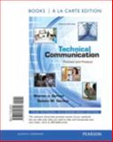 Technical Communication : Process and Product, Books a la Carte Plus NEW MyTechCommLab with EText - Access Card Package, Gerson, Sharon and Gerson, Steven, 0321900022