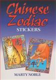 Chinese Zodiac Stickers, Marty Noble, 0486470032