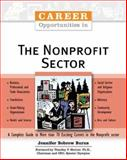 Career Opportunities in the Nonprofit Sector, Burns, Jennifer Bobrow, 0816060037