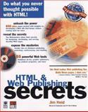 HTML and Web Publishing Secrets, Heid, Jim and Sydow, Dan P., 0764540033