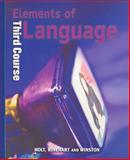 Elements of Language, O'Dell, 0030520037