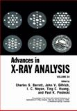 Advances in X-Ray Analysis 9780306440038