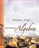 Intermediate Algebra with Applications and Visualization, Rockswold, Gary K. and Krieger, Terry A., 0321500032