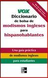 De Bolsa de Modismos Ingleses para Hispanohablantes, Vox Staff, 0071440046
