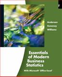 Essentials of Modern Business Statistics (Book Only), Anderson and Anderson, David R., 0324590040