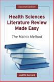 Health Sciences Literature Review Made Easy 2nd Edition