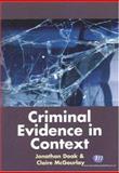 Criminal Evidence in Context, Mcgourlay, Claire, 1846410045