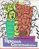 Principles of Speech Communication 9780321010049