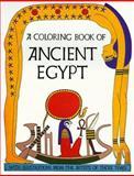 Ancient Egypt-Coloring Book, Bellerophon Books, 0883880059
