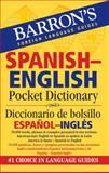 Barron's Spanish-English Pocket Bilingual Dictionary, , 0764140051