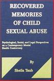Recovered Memories of Child Sexual Abuse 9780398070052