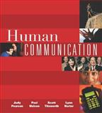 Human Communication, Pearson, Judy C. and Harter, Lynn, 0072560053