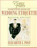 The Emily Post Wedding Book, Elizabeth L. Post, 0062700057