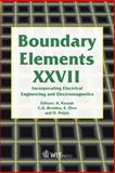 Boundary Elements XXVII : Incorporating Electrical Engineering and Electromagnetics, A. Kassab, 1845640055