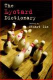 The Lyotard Dictionary, , 0748640053