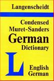 Condensed Muret-Sanders Dictionary, H. Willman and H. Messinger, 088729006X