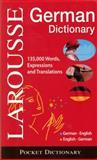 Larousse Pocket Dictionary : German-English / English-German, Larousse Staff, 2035410061