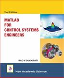 Matlab for Control System Engineers, Dukkipati, Rao V., 1781830061