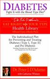 Diabetes, Peter J. D'Adamo and Catherine Whitney, 042520006X