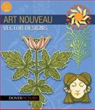 Art Nouveau Vector Designs, Dover Publications Inc. Staff and Carol Belanger Grafton, 0486990060