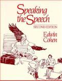 Speaking the Speech 9780030620065