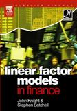 Linear Factor Models in Finance, , 0750660066
