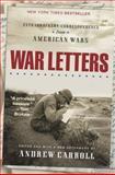War Letters, Andrew Carroll, 0743410068