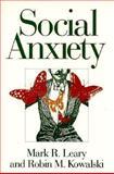 Social Anxiety 9781572300071