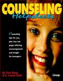 Counseling Helpsheets, Klaus, Tom and Ruth, G. Lamar, 155945007X
