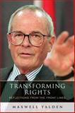 Transforming Rights : Reflections from the Front Lines, Yalden, Maxwell, 1442640073